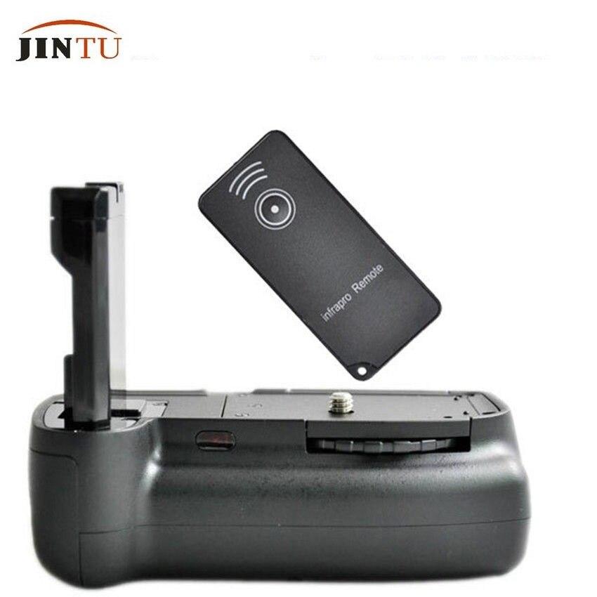 Jintu вертикальный Батарейная ручка en-el14a для <font><b>Nikon</b></font> D3100 <font><b>D3200</b></font> D3300 D5300 DSLR + ИК-Дистанционное управление + Бесплатная доставка гарантия 1 год