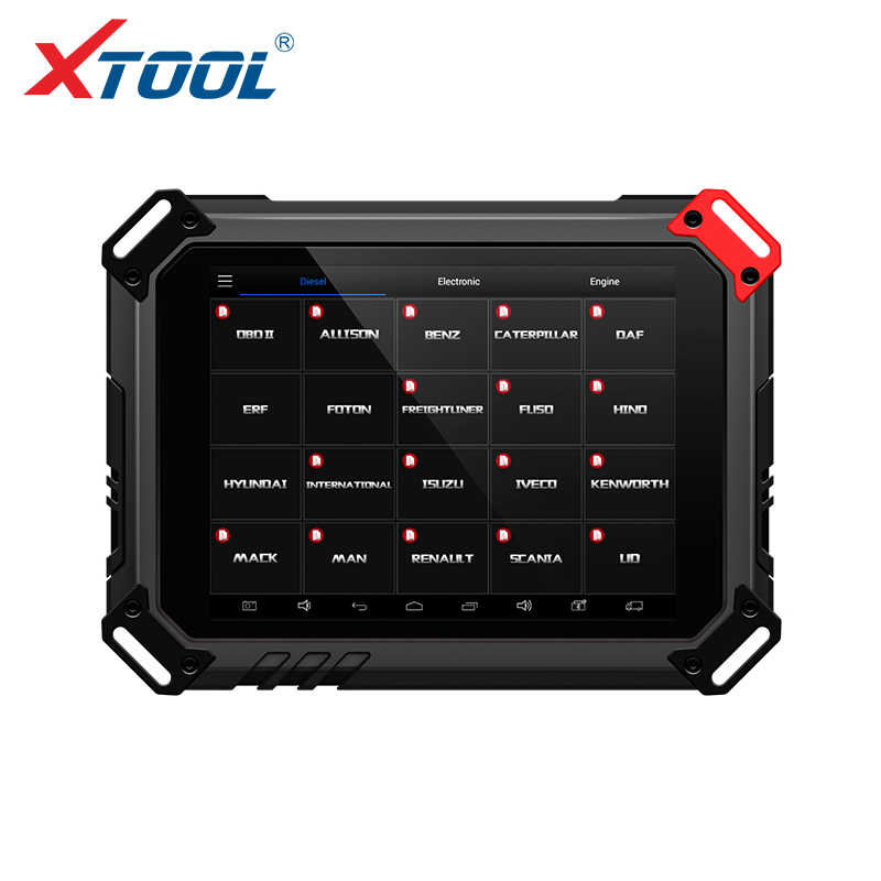 Xtool EZ500 HD כבד החובה עובד כמעט כל משאית מודלים עם WIFI אבחון מערכת ומיוחד פונקציה זהה Xtool PS80