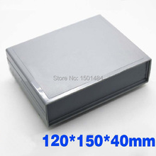 Electronic Plastic Project Box power control enclosure DIY -120*150*40MM NEW