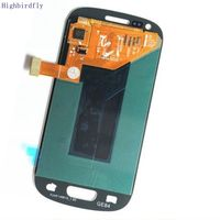 Highbirdfly For Samsung Galaxy S3 Mini i8200 I8190 i8195 i8200N Lcd Screen Display +Touch Glass Digitizer Assembly Amoled