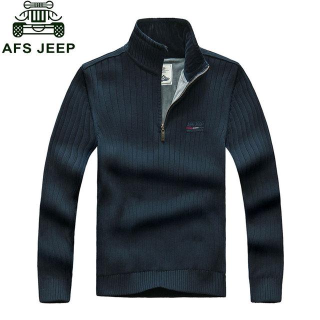 ROUPAS de Outono dos homens Casuais Pullovers Blusas de Malha de Algodão Quente de Lã Grossa Camisa Hombre Ásia Tamanho Roupas de Manga Longa