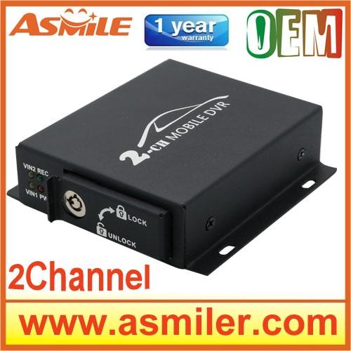 все цены на Mini CCTV 2ch Mobile kamepa Taxi Bus Vehicle Security DVR Motion Detect Support SD Card 128GB онлайн