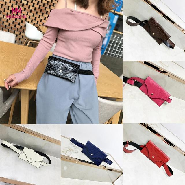 Fashion Women Crossbody Bags Pure Color Stone Pattern Leather Messenger Shoulder Bag Chest Bag 2018 New Fashion