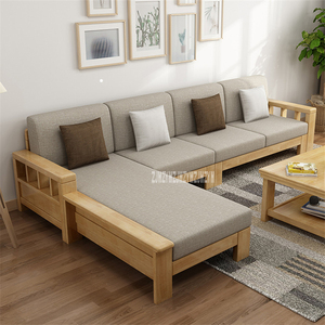 L Shape Sofa Set 8809 Dual Purpose