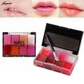 8 Colores brillo de labios Nude Lip Gloss Paleta Pintalabios Maquillaje de la Marca Sistema Impermeable Tinte Stick Labial Labio Bebé Cosmética Coreana M02727