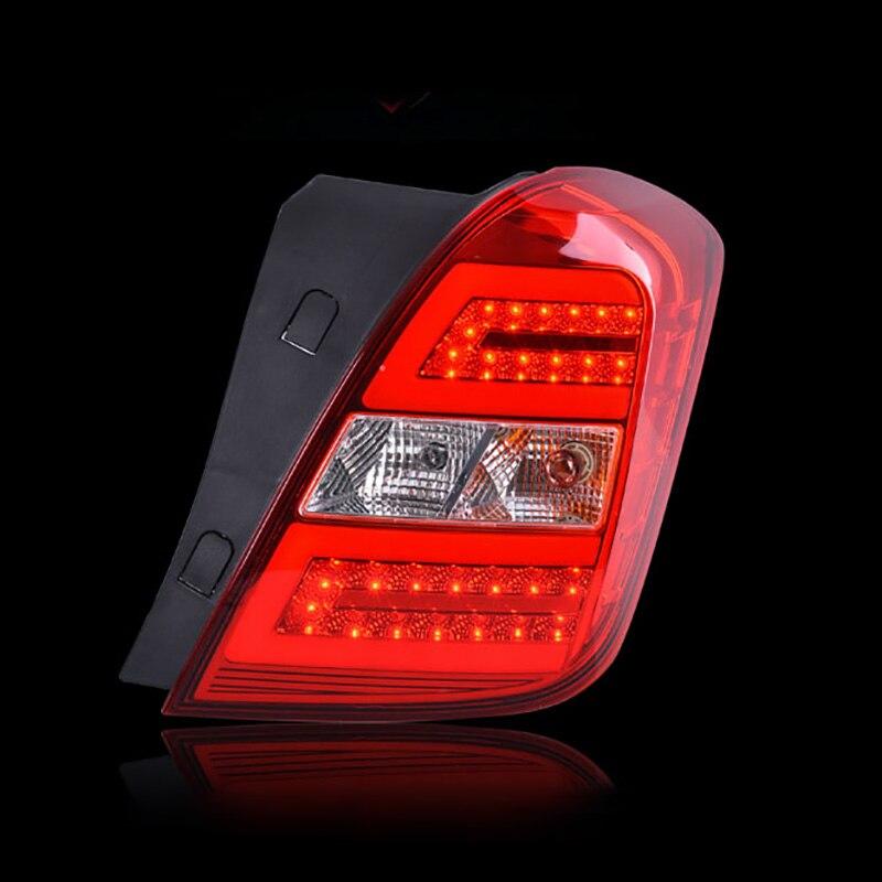 Ownsun 2 шт задний Л/П ДРЛ задний багажник сигнал+тормоз+Обратная светодиодные задние фонари для Шевроле ТРАКС