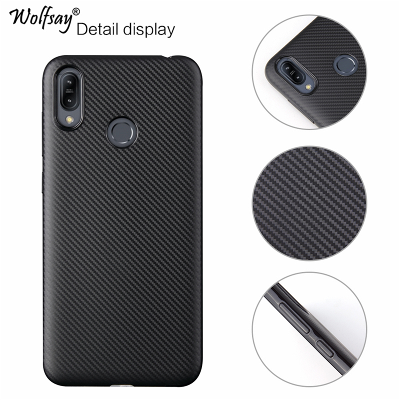 Wolfsay Cover Asus ZenFone Max M2 Case Fashion Ultra Thin Style Silicone Case For ASUS ZenFone Max M2 ZB633KL ZB632KL X01BD BDA in Fitted Cases from Cellphones Telecommunications