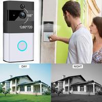 WIFI Door Bell Home Intelligent Doorbell Network Wireless Video Night Vision Mobile Remote Video Intercom Doorbell EU/US/UK