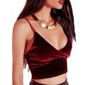 New Women Camisole Vest Simple Stretchable Ladies V Neck Slim Sexy Strappy Camis Tops Elastic Slim Strap Tops Tees Modal Camis