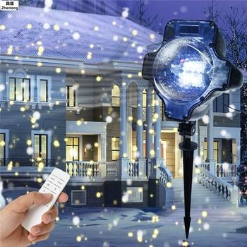 Yeni Stil Bahçe Çim Lamba ışığı Açık LED Başak Işık Yolu Peyzaj Su Geçirmez Dekorasyon Eklemek Zemin Projeksiyon Lambası