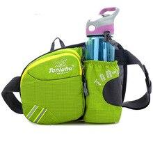 TANLUHU Waterproof Nylon Waist pack 27*8*19cm Outdoor Sports Hiking Running Gym Bag Chest Bag Kettle Pack 321