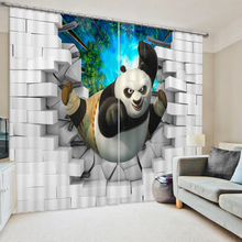 3d curtains High Quality Customize buyer size Children cartoon modern style Bedding room 3D Curtains