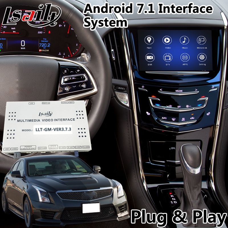 Video-Interface Gps Navigation Android for Cadillac Xt5/escalade-Cue-System
