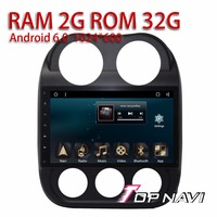 Auto Players For Jeep Compass 2010 10 1 Android 6 0 WANUSUAL Big Capacitive Multi Touch