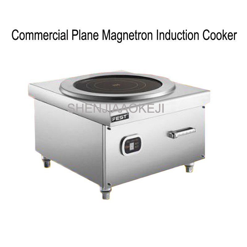 Высокой мощности индукционная плита 8KW/12KW/15KW суп жарки печь плоскости Настольный кухня коммерческих плита 380 В 1 шт.