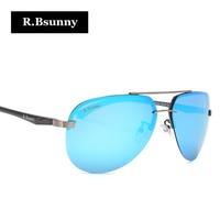 R. Bsunny aluminium magnesium gepolariseerde mannen zonnebril vrouwen klassieke Merk Designer Spiegel rijden Eyewear Pilot zon glas UV400