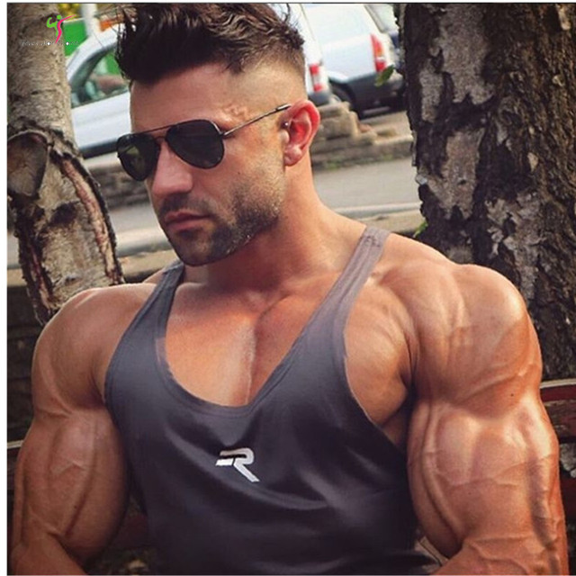 2018 Summer Newest Tank Top Men New Gyms Clothing Bodybuilding Fitness Workout Muscle Vest Sportswear