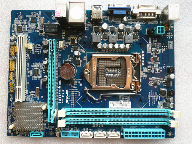 B85 motherboards Used original for Onda B85S2 all solid supports VGA DVI HDMI output 6-channel sound card