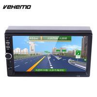 Vehemo AUX/USB/TF/FM 자동차 MP5 원격 제어 자동차 오디오 7 인치 MP5 플레이어 자동차 2Din 자동차 전자