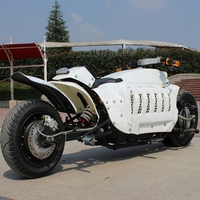 Electric Motorcycle Lithium Motorbike for Adult Outdoor Intelligent Moto Electrica 60V 1500W Citycoco Camping car