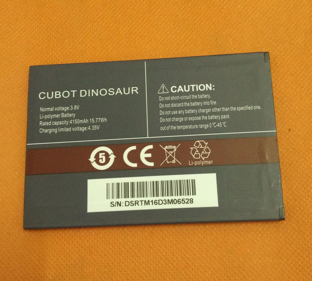 "Original 4150mAh Battery Batterie Batterij Bateria For Cubot Dinosaur MTK6735A Quad Core 5.5"" HD 1280x720"