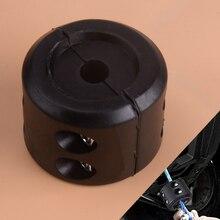 Beler Высокое качество Универсальный черный резиновый квадроцикл ATV UTV Передняя лебедка крюк троса стоп Подушка пробка