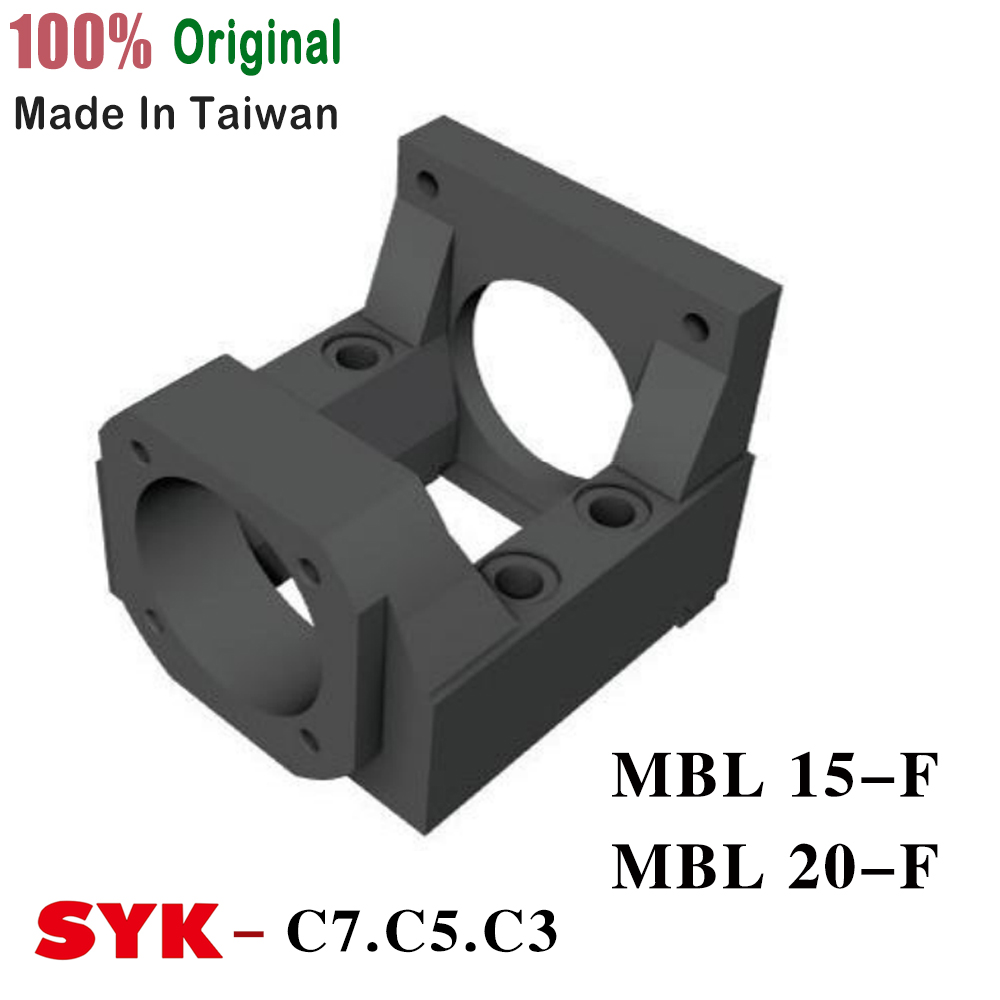 SYK Motor Bracket MBA type ( MBA15 MBA20 ) MBA15-F MBA20-F Black for NEMA34 and FK15 FKA20 image