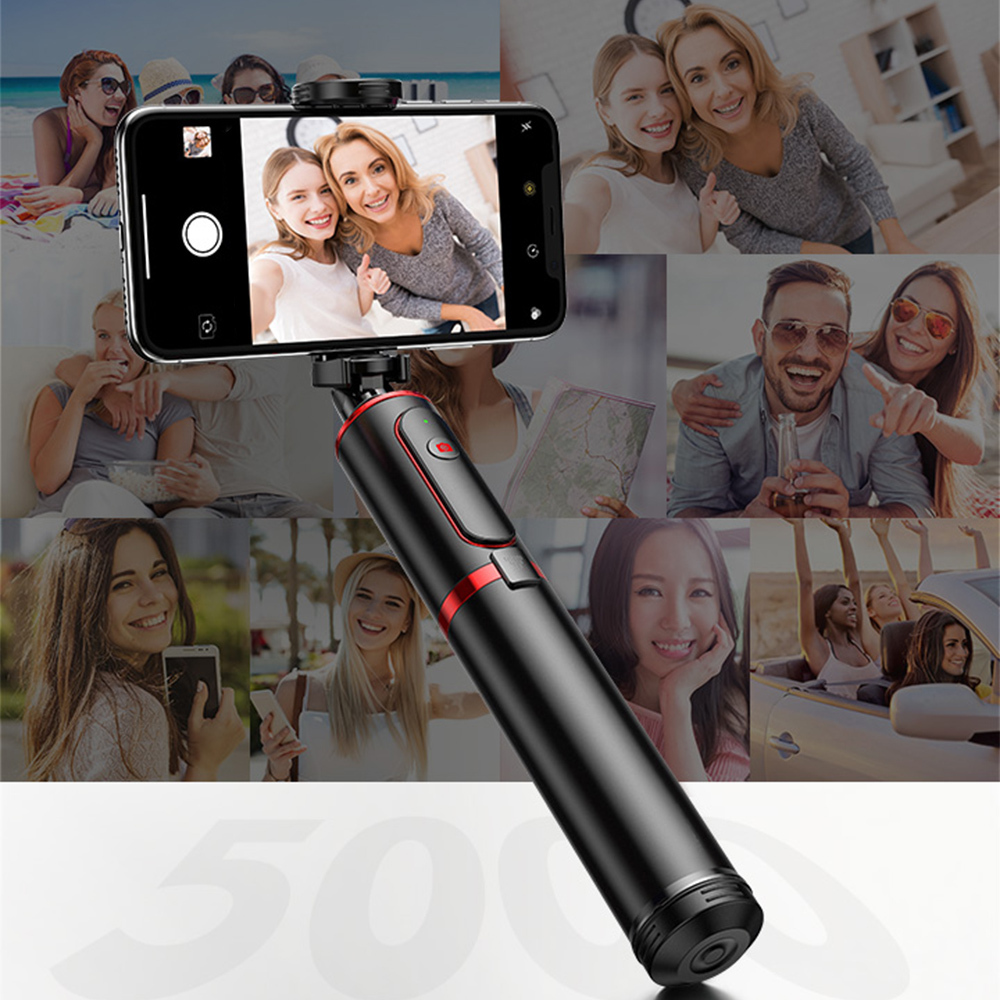 Bluetooth Selfie Stick Handheld Smart Phone Camera Tripod with Wireless Remote Control for iPhone Huawei Samsung Android New