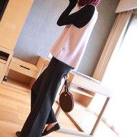 2019 spring new women's loose v neck sweater vest female short Korean version of the wild sleeveless knit vest
