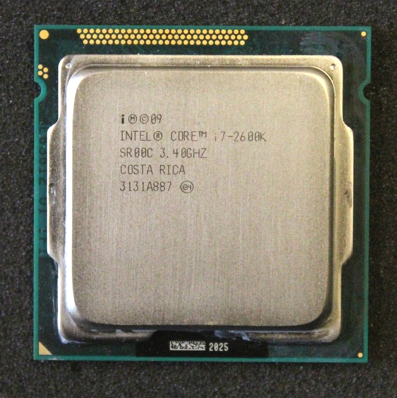 Intel Core i7 2600K 3 4GHz SR00C Quad Core LGA 1155 CPU i7 2600K Processor