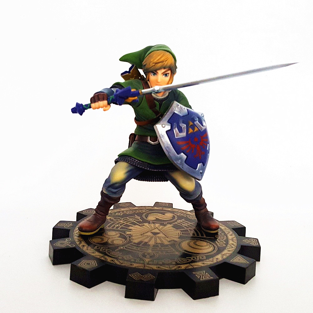 The Legend of Zelda Skyward Sword PVC Action Figure 1/7 Anime Game Toy Zelda Link Figurine Collectible Model Toy