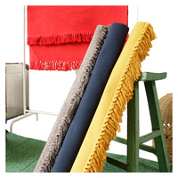 New Hand Knitting 100% cotton carpet with tassels Solid Color mat for living room bedroom Machine washable rugs Colorful 4 sizes