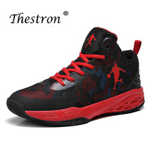 2019 Mens Basketball Sneakers Anti-Slip Damping Sport Shoes For Summer Breathable Men Outdoor