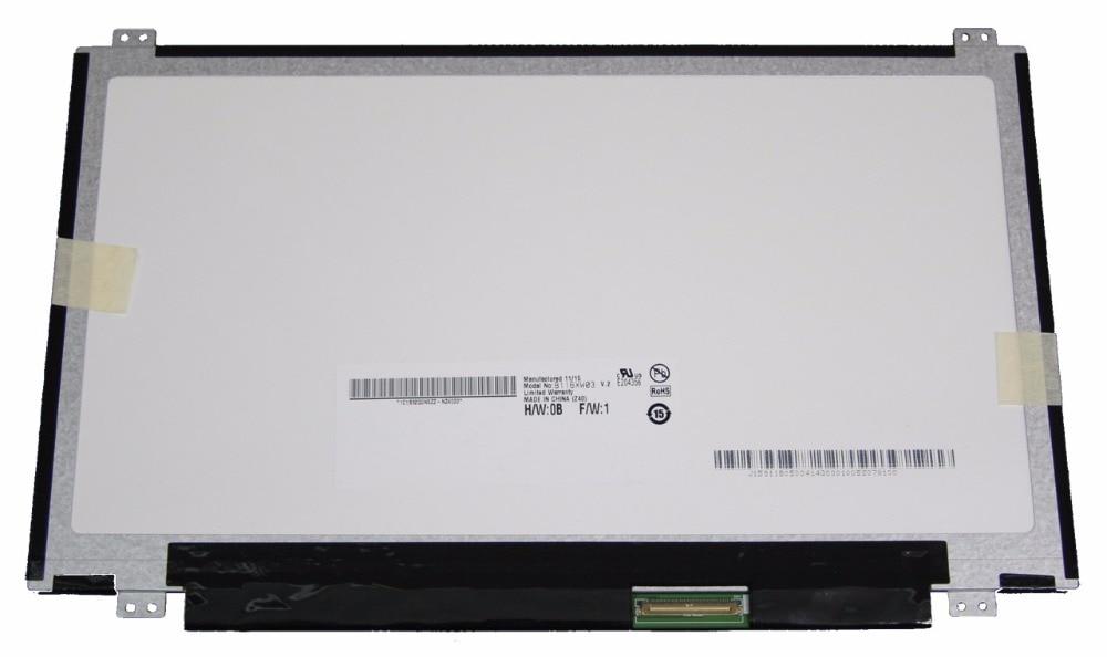 "Tested AU Optronics B116XW03 V1 11.6/"" LED LCD Screen Panel WXGA Matte"