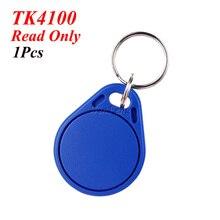 1 шт. близость EM4100 RFID тег 125 кГц ABS брелок жетон с чипами TK4100 синий чтение только для системы контроля доступа