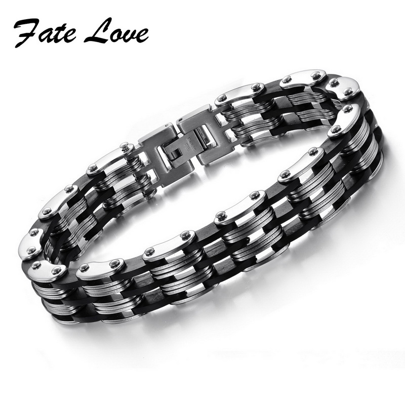 mixed order Fashion New style pure stainless steel bracelet for man different design free <font><b>choice</b></font> 10 pcs/lot