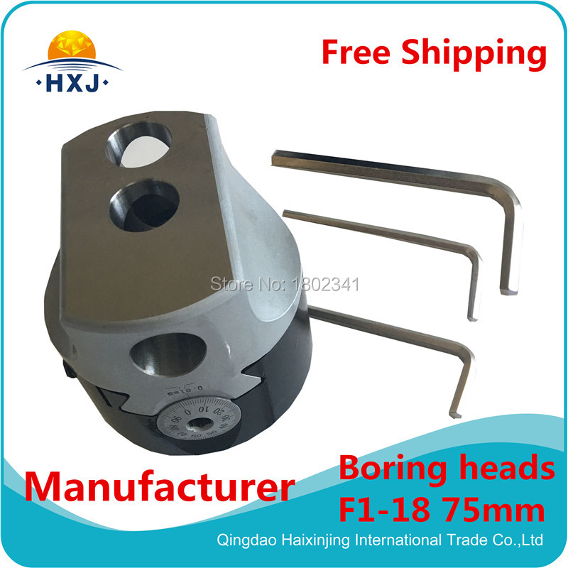 Kit Of Boring Head  75mm 12Pcs F18-75mm kit of boring head 50mm 9pcs f1 12 mt3 1set