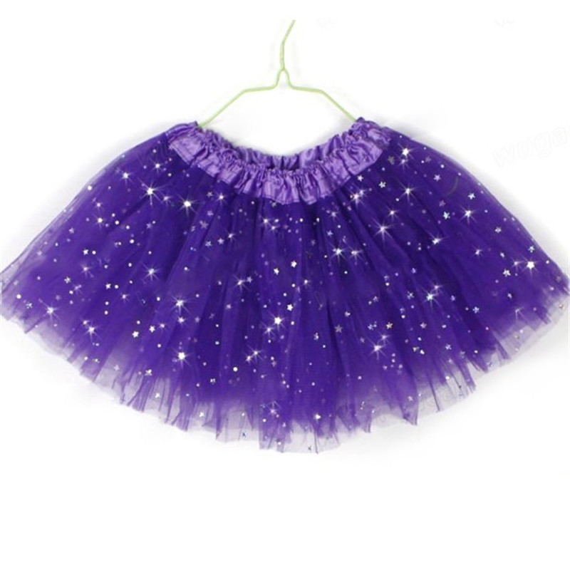 Jenter Kids Tutu Skjørt Princess Party Ballet Dance Wear Pettiskirt Kostyme