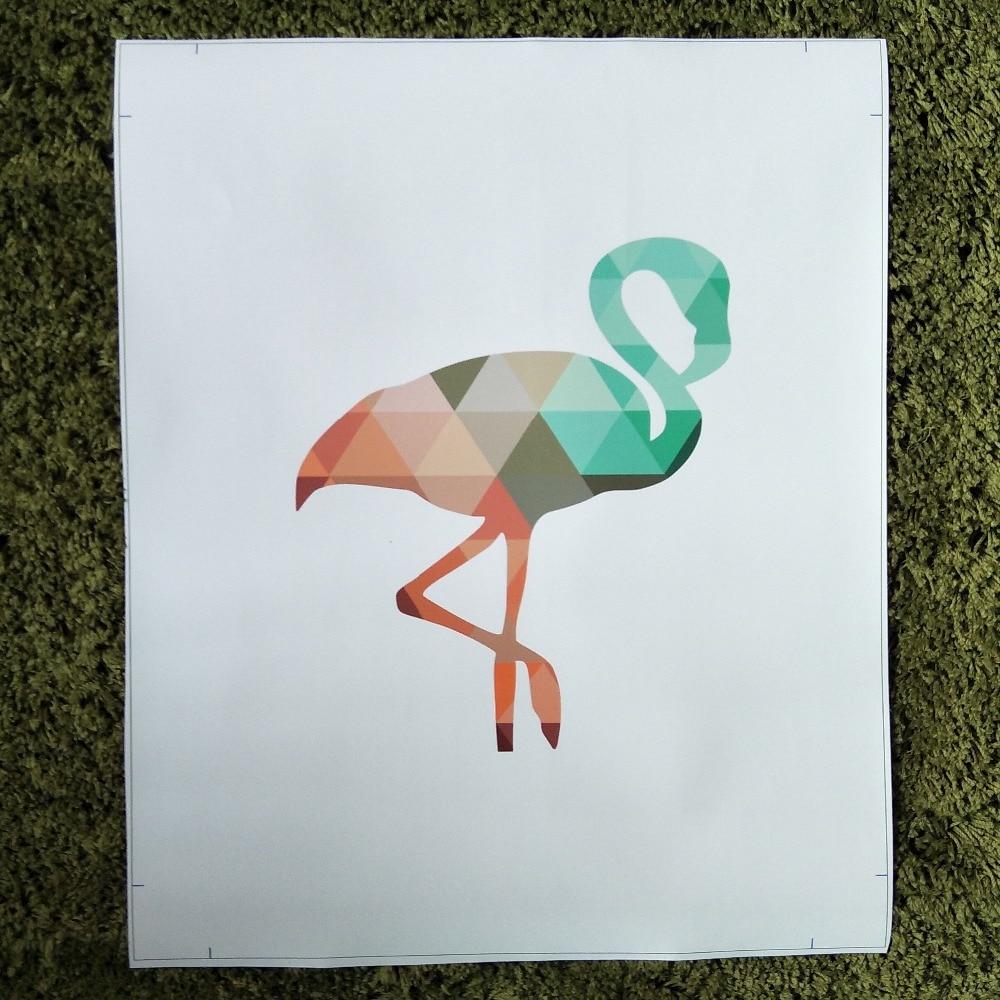 xdr479 Северна цветна еленова глава - Декор за дома - Снимка 6