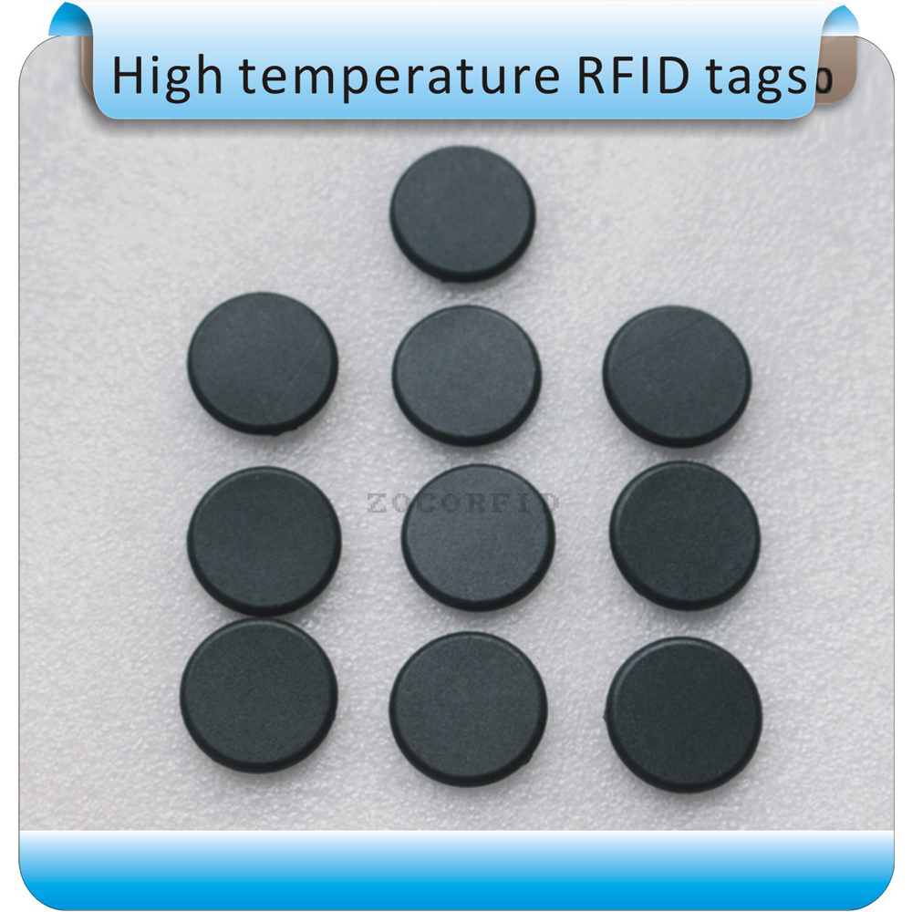 Free Shipping 100pcs 20 Diameter RFID 125KHz ID Laundry Tags/High Temperature Washing Label