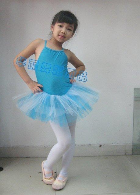 5e3a11f86c07 New Blue Ballet Tutu! Girls Ballet Tutu Leotard Dancewear costume SZ ...