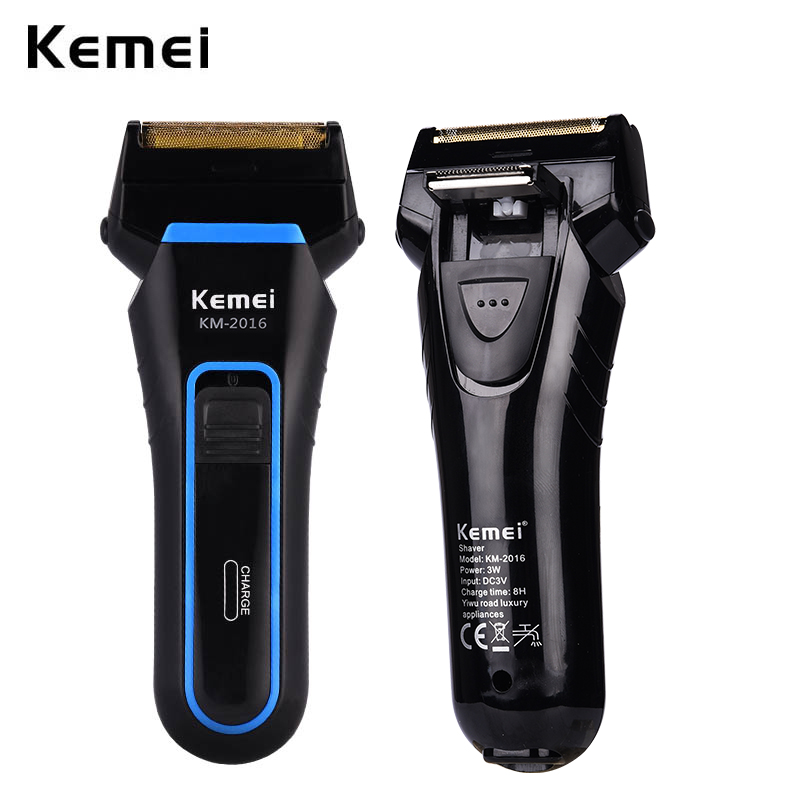 Whole Body Washable Electric Shaver Reciprocating Double Blades Electric Razor Cordless Rechargeable Men Beard Shaving Machine 0
