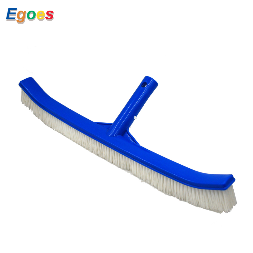 Egoes Pool Cleaner and Maintenacne Brush Molded Back White Nylon Brushes 58280