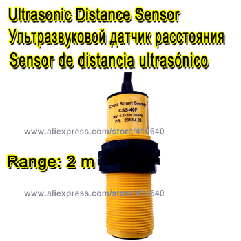 цена на FACTORY SUPPLY Range Adjustable Ultrasonic Transducer 2 Meter Distance  15 To 30V Power Supply 0 To 10V Output