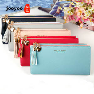 Long Wallet Multi-Function Zipper Large-Capacity Lady Women Mobile-Phone-Package Leisure