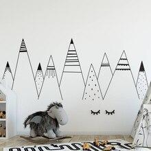 YOYOYU Art Vinyl wall sticker kids room Cute Mountains Removeable Decal Livingroom Bedroom Nursery Room Decoration  ZX215
