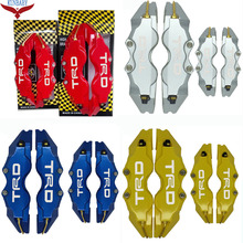 Sale KUNBABY 4 Colors Brake Caliper Cover Model 3 TRD 4 Pcs Car Styling Decoration For Honda And Other Car