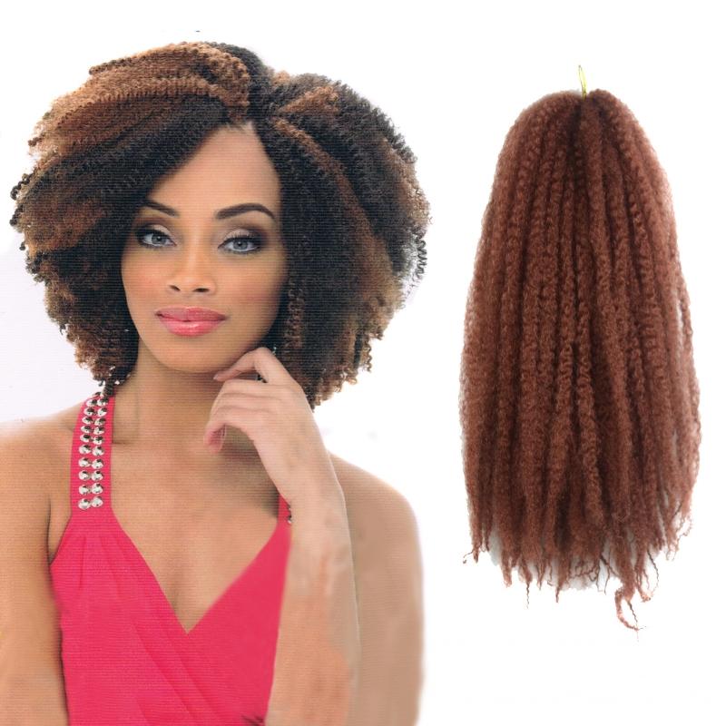 Admirable Aliexpress Com Buy 10Colors Afro Kinky Marley Braiding Hair Short Hairstyles Gunalazisus