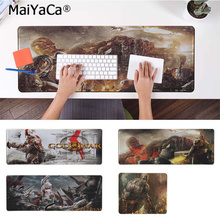 MaiYaCa Your Own Mats God of War Silicone large/small Pad to Mouse Game Free Shipping Large Keyboards Mat