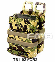 Water Transfer FAST Magazine Holster FMA Tactical Ammo Pouch Bag for Hunting Heavy 5.56 Magazines Free Shipping